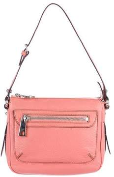 Marc Jacobs Textured Leather Shoulder Bag - PINK - STYLE