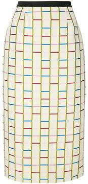 Antonio Marras fitted knit skirt