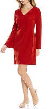 Alex Marie Phyllis Bell Sleeve Shift Dress