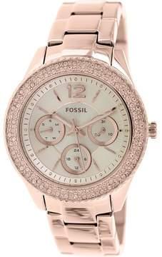 Fossil Women's ES3590 Stella Stainless Steel Watch, 38mm