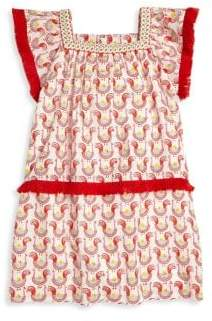 Roberta Roller Rabbit Toddler, Little Girl's & Girl's Oceana Fringe Dress