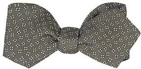 Drakes Drake's Men's Micro-Floral Bow Tie