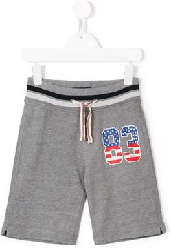 Woolrich Kids 83 print track shorts