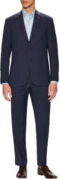 Michael Bastian Gray Label Men's Wool Plaid Notch Lapel Suit