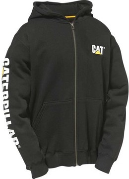 Caterpillar Full Zip Hooded Sweatshirt (Men's)