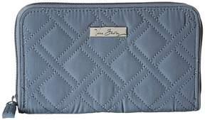 Vera Bradley Accordion Wallet Wallet Handbags - CHARCOAL - STYLE