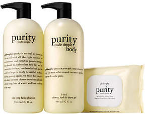 philosophy Purity Made Simple Face And Bodytrio