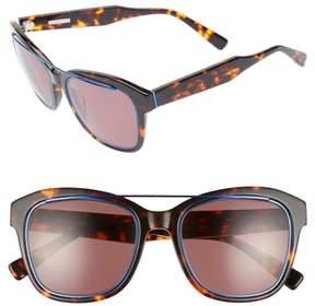 Derek Lam Women's Hudson 52Mm Gradient Sunglasses - Havana Tortoise