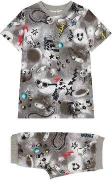 Molo Comic Print Pyjama Set