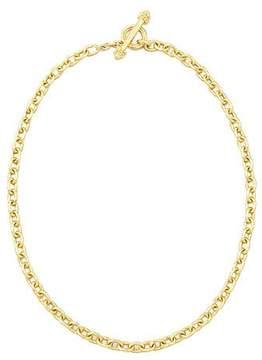Elizabeth Locke Orvieto 19k Gold Link Necklace, 17L
