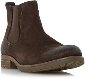 Dune London CRUSHER - BROWN Rugged Chelsea Boot