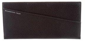 Smythson Leather Travel Wallet