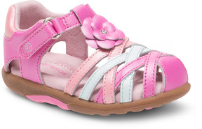 Stride Rite Girls' Lily Leather Sandal