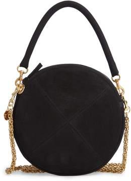 Clare Vivier Corduroy Circle Clutch/Crossbody Bag