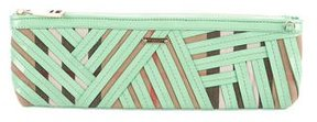 Burberry Prorsum Parmoor Clutch w/ Tags - GREEN - STYLE