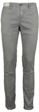 Incotex Men's St619x90697906 Grey Cotton Pants.