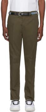 Prada Green Tailored Trousers