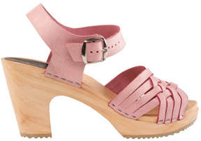 Cape Clogs Women's Herringbone Pink Sandal