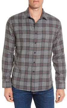 Grayers Duchamp Trim Fit Plaid Double Woven Sport Shirt