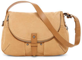 Lucky Brand Liza Nubuck Leather Shoulder Bag