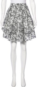 Boy By Band Of Outsiders Printed A-Line Skirt w/ Tags