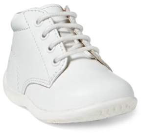Ralph Lauren Kinley Leather Boot White Leather 4