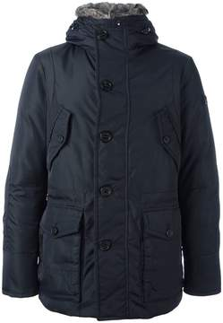 Peuterey zipped hooded coat