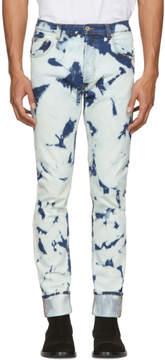 Loewe Blue Bleached Indigo Jeans