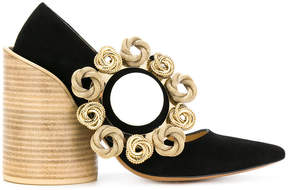 Jacquemus embellished pointed pumps