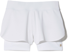 Sweaty Betty Serve Tennis Shorts in White, X-Small
