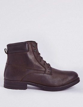 Marks and Spencer Leather Lace-up Boots