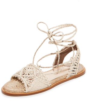 Paloma Barceló Cruis Flat Sandals