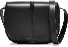A.P.C. Betty Leather Shoulder Bag - Black