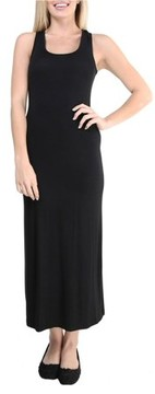 24/7 Comfort Apparel Women's Sleeveless Tank Maxi Dress