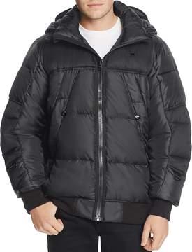 G Star Whistler Hooded Bomber Jacket
