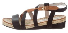 Marc by Marc Jacobs Satin Wedge Sandals