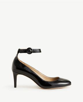 Ann Taylor Nayla Patent Leather Almond Toe Pumps