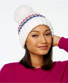 INC International Concepts Monster Pom Pom Beanie, Created for Macy's