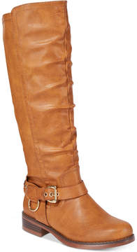 XOXO Mauricia Wide Calf Tall Boots Women's Shoes
