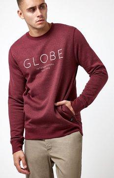 Globe Mod Crew Neck Sweatshirt