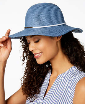 INC International Concepts I.n.c. Contrast-Band Floppy Hat, Created for Macy's