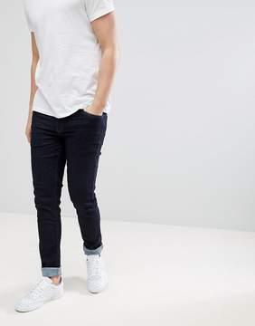 Farah Drake Slim Fit Jeans in Blue Rinse