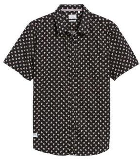 7 Diamonds Men's Shadow Dancing Print Woven Shirt