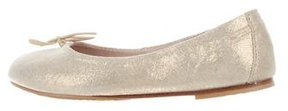 Bloch Girls' Round-Toe Ballet Flats