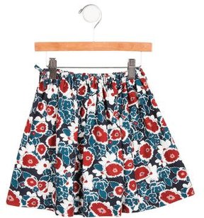 Marni Girls' Gonna Floral Print Skirt w/ Tags