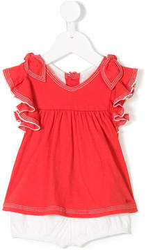 Chloé Kids two-tone short set