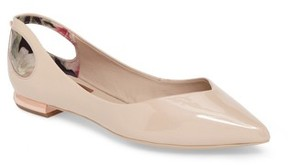 Ted Baker Women's Dabih Cutout Pointy Toe Flat