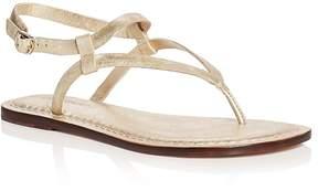 Bernardo Merit Metallic Ankle Strap Sandals