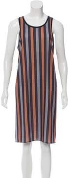 Clover Canyon Striped Sleeveless Dress