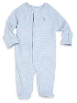 Ralph Lauren Baby's Striped Footie